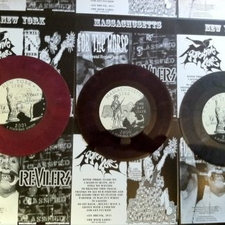Revilers / For The Worse / World War IX / Aggressive Force 7""