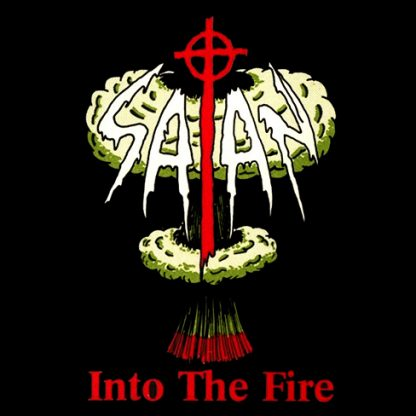 "Satan - Into the Fire / Kiss of Death LP + 7"" (green vinyl)"